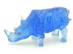 Mini Blue Rhinocerous