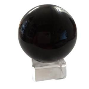 Obsidian Crystal Ball 70mm