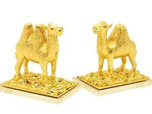Pair of Golden Camel Cash Flow Protection