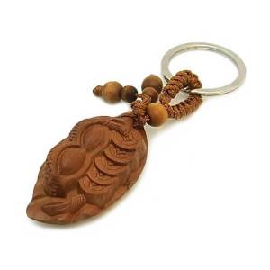 Peanut & Coins on Leaf Amulet for Continuous Wealth1