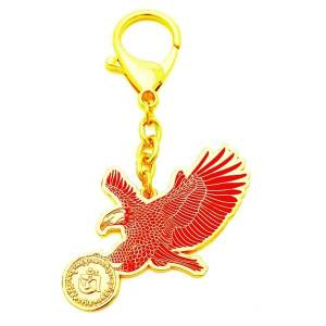 Red Eagle Key Chain for Quarrelsome Star