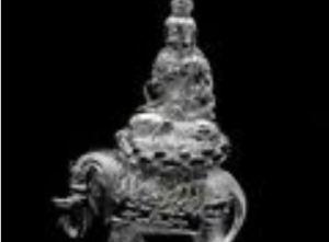 Samantabhadra Sitting on Sacred Elephant