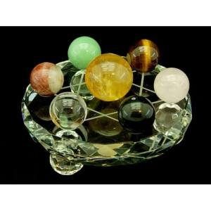 Star of David with Seven Assorted Crystal Balls1