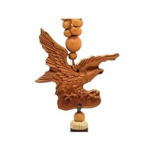 Swooping Power Eagle Prayer Beads Tassel1