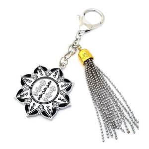 Ten Hum Protection Wheel Amulet Key Chain