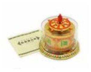 Tibetan Prayer Wheel with Om Mani Padme Hum Mantra,jpg