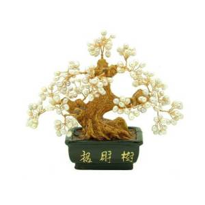 Wealth Inviting Feng Shui Pearl Tree (S)
