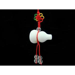 White Jade Longevity Wulou Hanging1