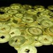 100 Golden I Ching Coins