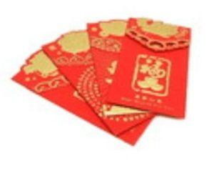 3 Packs Prosperity Red Packet (3 Packs, 4 PcsPack)