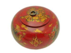 6 Oriental Antique Style Dragon & Phoenix Box (Round)