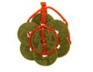 Brass Eight Immortals Coins Amulet