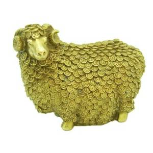 Brass Million Prosperity Sheep1