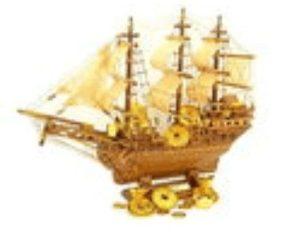 Chinese Feng Shui Wealth Ship