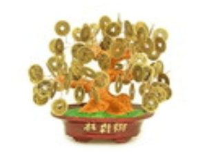 Chinese I-Ching Coins Money Tree