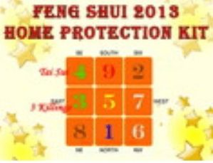Feng Shui 2013 Home Protection Kit