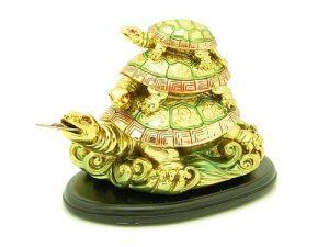Golden Three Tier Tortoise1