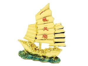 Golden Wealth Ship Filled With Treasures1