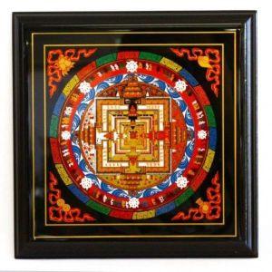 Kalachakra Mandala Plaque