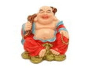 Laughing Buddha with Big Sack of Wealth