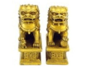 Majestic Brass Fu Dogs for Protection