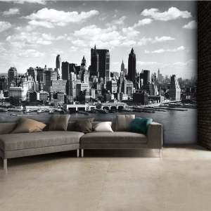 New York Skyline Wall Mural