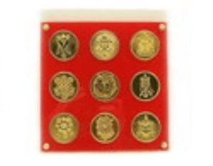 Nine Amulet Plaque Protect against Hostility