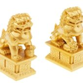 Pair of Chinese Lions for Home Protection