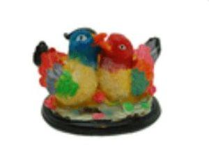 Pair of Lovely Colorful Mandarin Ducks
