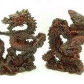 Redstone Dragon and Phoenix