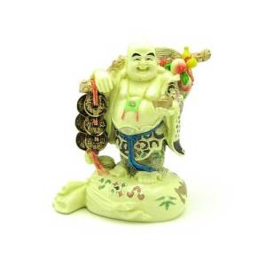 Traveling Laughing Buddha for Good Fortune1