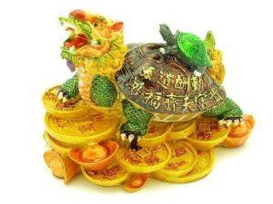 Vibrant Dragon Tortoise on Treasures Carrying Child1