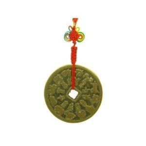 Vintage Feng Shui Tai Sui Coin Amulet (L)1