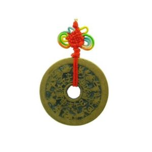 Vintage Feng Shui Tai Sui Coin Amulet1