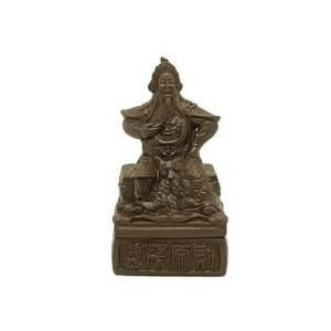 Zisha Clay General Kuan Kung Incense Burner1