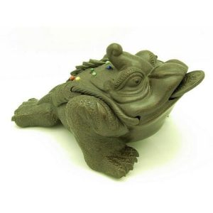 Zisha Clay King Money Frog for Good Wealth Luck1