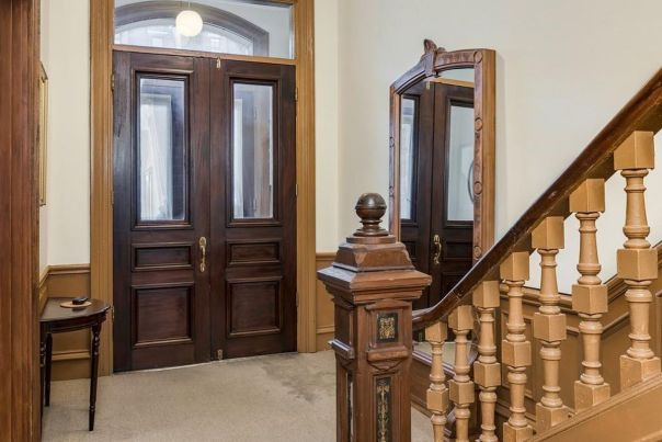 staircase-facing-door