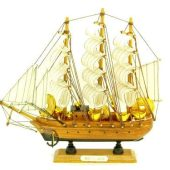 10 inch Wealth Sailing Ship For Wealth Accumulation1
