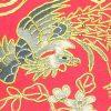 10Crt Gold Thread Silk Embroidered Phoenix Mat (Red)3