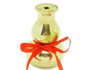 3 Golden Brass Wu Lou Incense Burner1