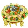 Bejeweled Wish-Fulfilling Floral Jewelry Box2