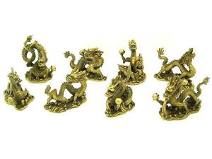 Brass Eight Dragons Grasping Balls For Great Success1