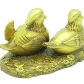 Brass Mandarin Ducks For Marriage Luck1