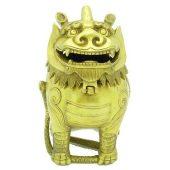 Brass Pi Yao Incense Burner1