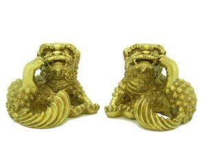 Brass Three Legged Feng Shui Pikan1