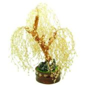 Citrine Crystal Four Seasons Willow Feng Shui Tree1