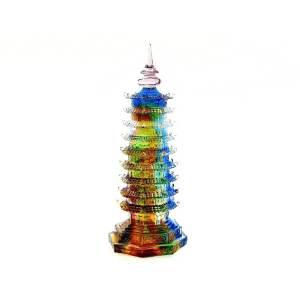 Colourful Liuli Nine Level Feng Shui Pagoda1