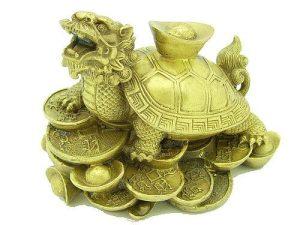 Dragon Tortoise With Gold Ingot (L)1