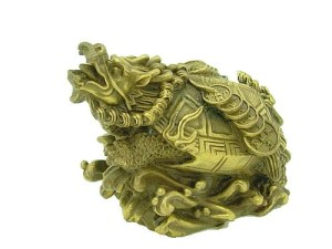 Dragon Tortoise with Strings of Coins for Wealth1