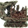 Eight Immortals On A Tree Boat1